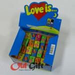 Блок жевательной резинки Love is... Микс