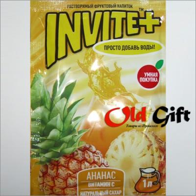 Пакетик растворимого напитка Инвайт плюс (Invite+) 30 гр.