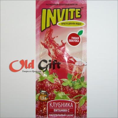 Пакетик растворимого напитка Инвайт (Invite) 9 гр.