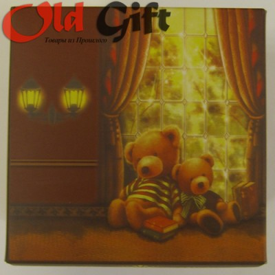 Подарочная коробка Медведи