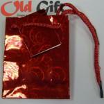 Голографический пакет - красный