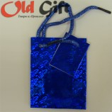 Голографический пакет - синий
