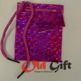 Голографический пакет - фиолетовый